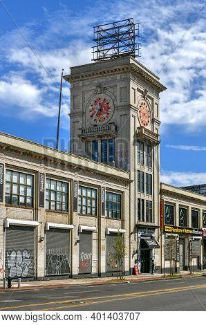 Brooklyn, New York - Sep 20, 2020: Bond Bread Bakery Building In Prospect-lefferts Gardens, Brooklyn