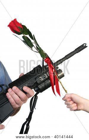 Adult Rifle Child Rose