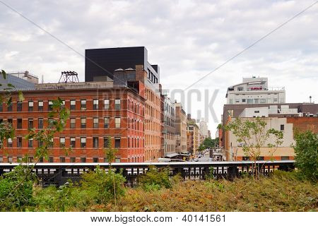 High Line Park Chelsea, New York