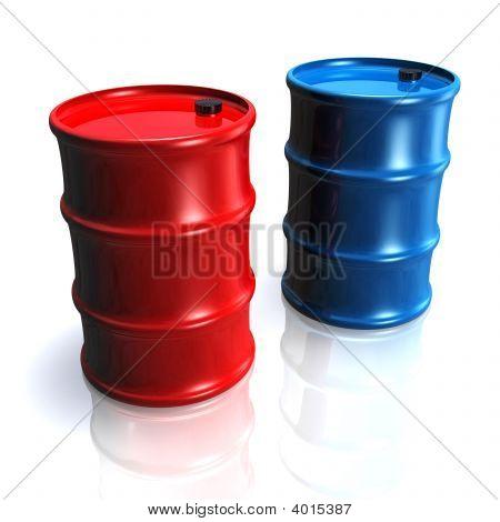 Colorful Barrel