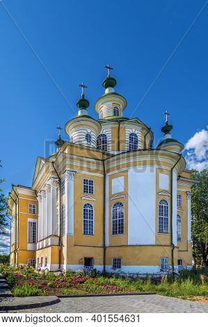 Ascension Cathedral In Spaso-sumorin Monastery, Totma, Russia