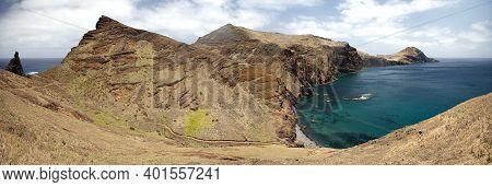 View Of Ponta De Sao Lourenco In Madeira
