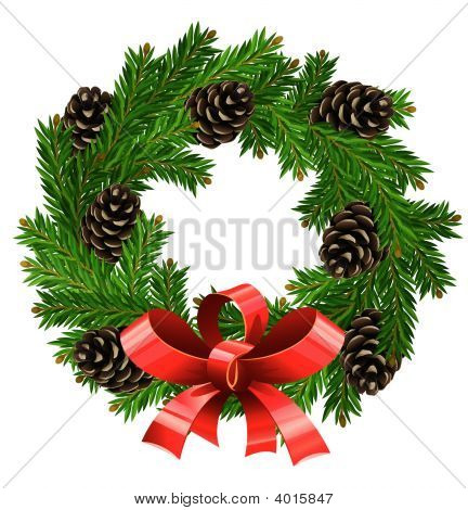 Wreath Christmas Decoration