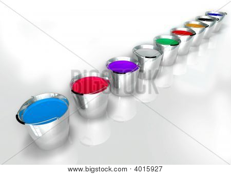 Colors Buckets