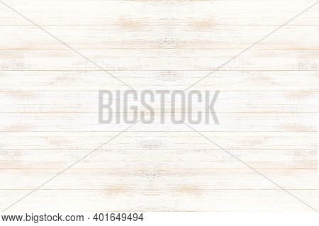 White Washed Old Wood Background, Wooden Abstract Texture. White Old Wood Background, Abstract Woode