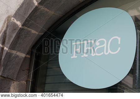 Bordeaux , Aquitaine  France - 12 28 2020 : Frac Logo Sign Means Text Fonds Régional D'art Contempor