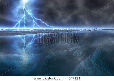 Thunderstorm In The Arctic