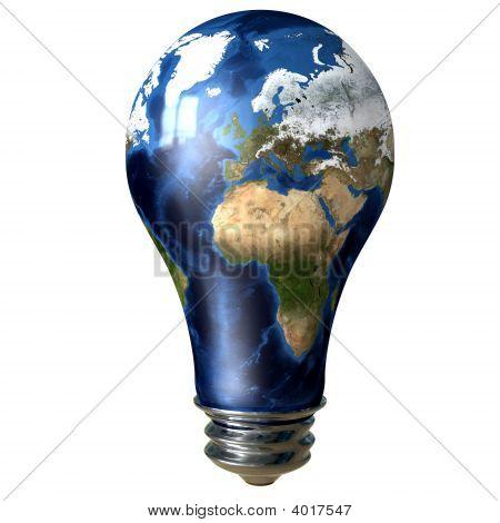 Light Bulb Earth