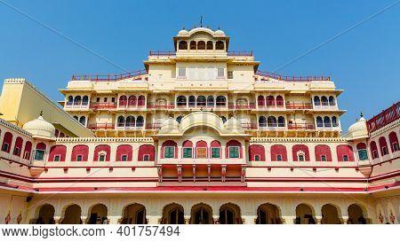 Jaipur City Palace In Jaipur City, Rajasthan, India