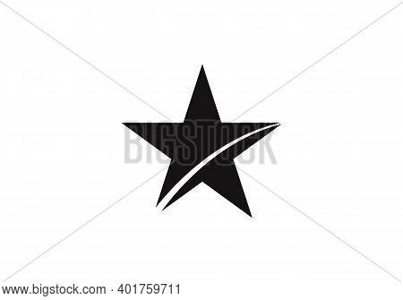 Luxury Star Logo Designs Template, Elegant Star Logo Designs. Star Logo Template Vector Icon Illustr