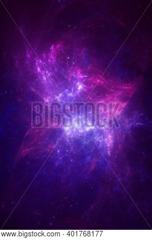 A Space Nebula Overlay Colour Texture Background