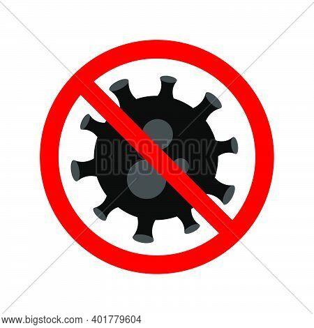 Stop Virus. Virus Outbreak. Protection Against Viruses And Diseases. Stop Spread Of Virus. Public He
