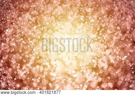 Defocused Abstract Red Lights Background. Red Glitter Vintage Lights, Christmas, Sequin Light. Textu