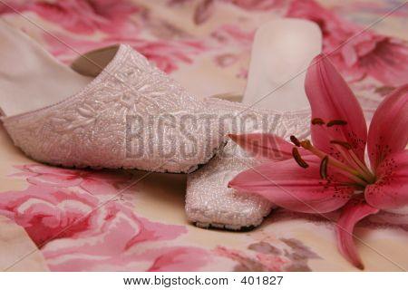 Ladies Beaded Shoe