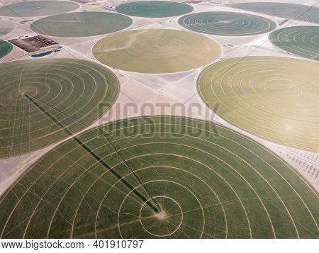 Irrigation Circles - Center Pivot Irrigation System
