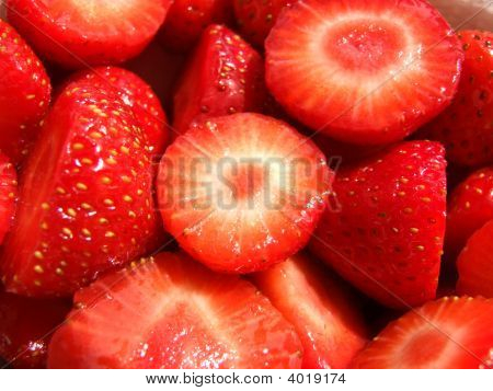 Fresh Cut Strawberries