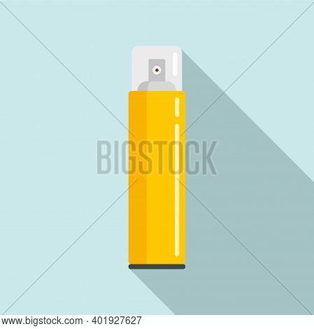 Stylist Hair Spray Icon. Flat Illustration Of Stylist Hair Spray Vector Icon For Web Design