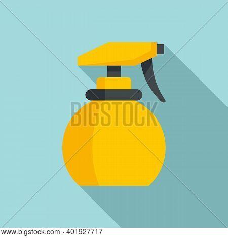 Stylist Water Spray Icon. Flat Illustration Of Stylist Water Spray Vector Icon For Web Design