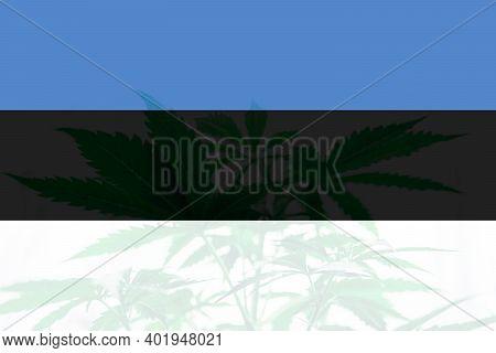 Cannabis Legalization In The Estonia. Medical Cannabis In The Estonia. Weed Decriminalization In Est