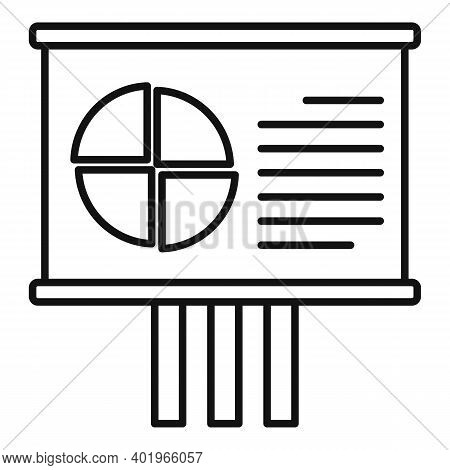 Sociology Lesson Banner Icon. Outline Sociology Lesson Banner Vector Icon For Web Design Isolated On