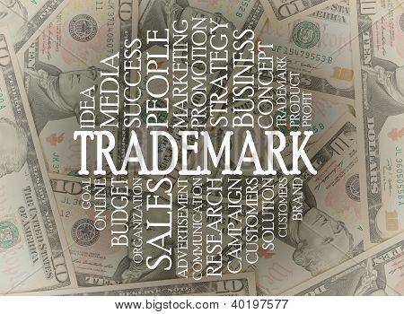 Trademark Cloud Concept