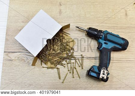 Cordless Combi Drill For Used As Normal Drill, Impact Drill And Screw Driver. Cordless Impact Screwd