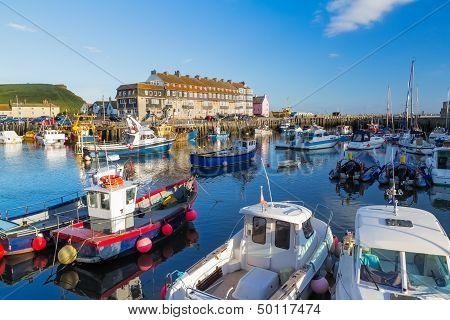 West Bay Dorset England