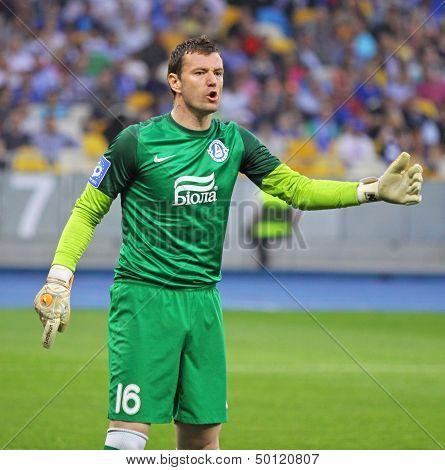 Goalkeeper Jan Lastuvka Of Fc Dnipro