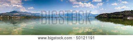 Panoramic View Of Kastoria Lake, Greece