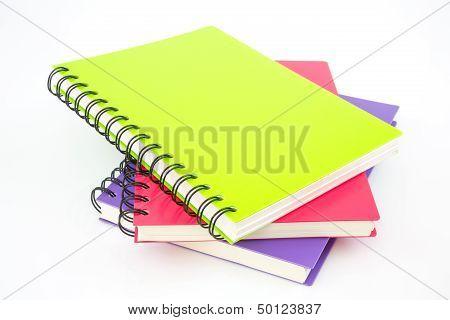 Notebook Isolated On White Background