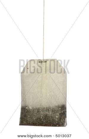 Teabag Isolated