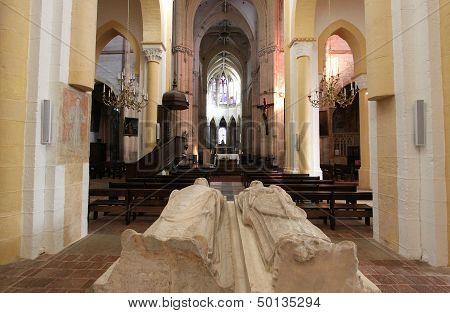 Abbaye de Souvigny, Allier, France