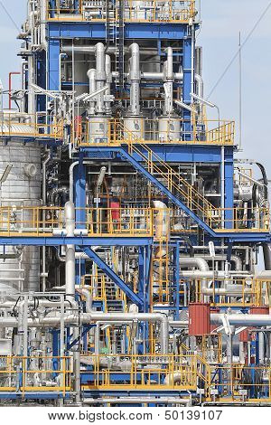 Structure Of Industrial Plant
