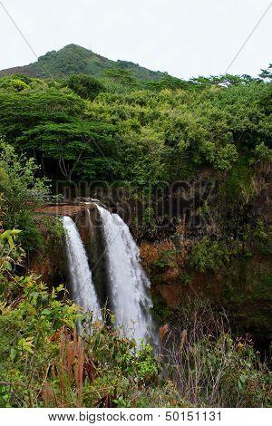 Wailua Waterfall Kauai Hawaii