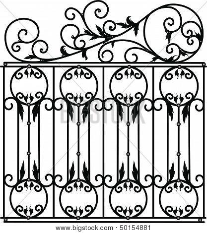 Fences of a lattice of collar