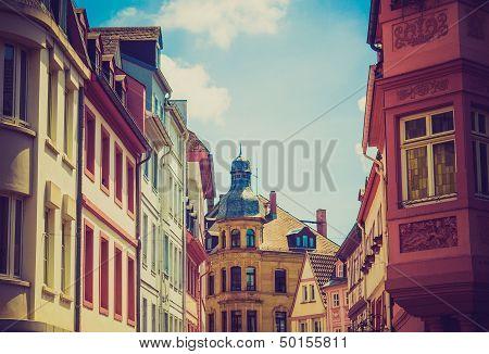 Retro Look Mainz Old Town