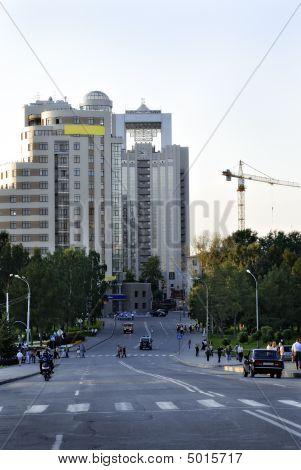 City, Avenue, Buildings