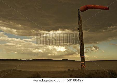 Windy Mojave Desert