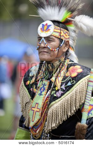 American Indian At Ucla Pow Wow