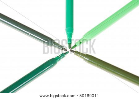 Five Shades Of Green