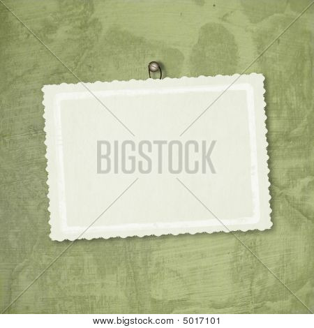 Card for greeting or congratulation on the abstract background poster
