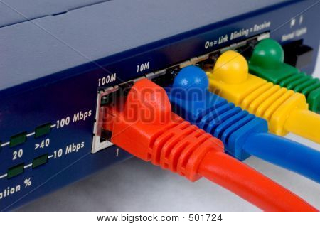 Router And Cables