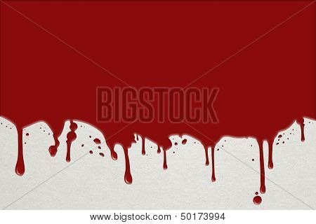 Background With Flowing Blood