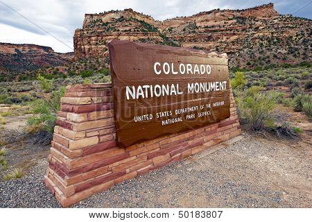 National Monument Entrance