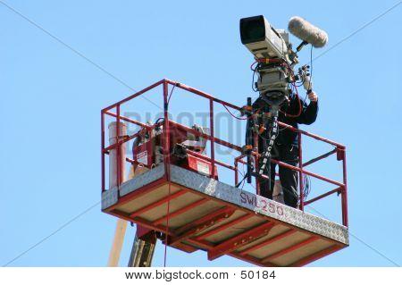 Cameraman At Work...