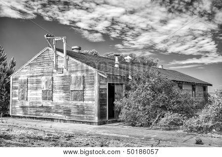 Abandoned Barracks At Fort Ord