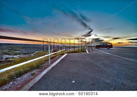 Badlands Viewpoint Hdr