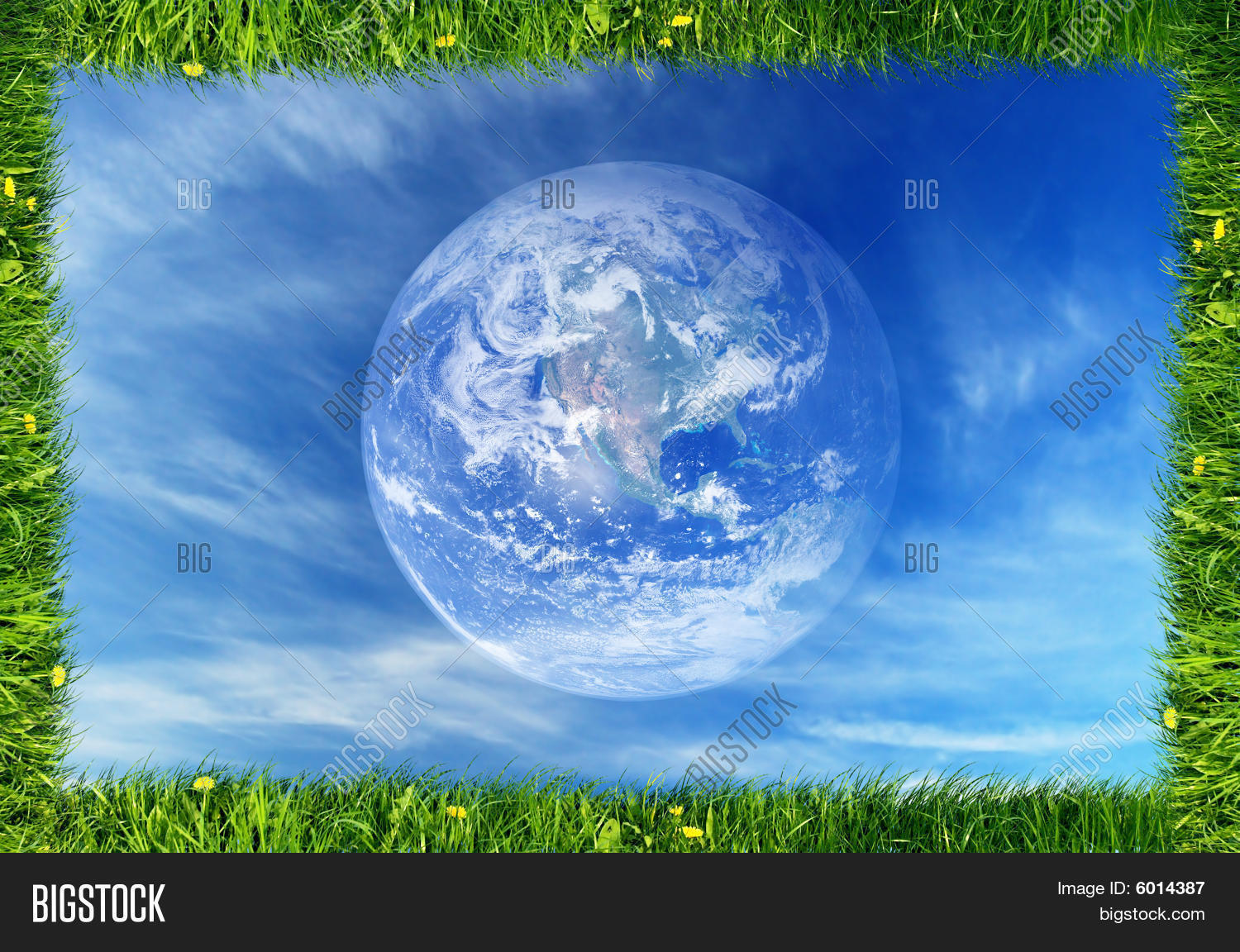 Nature Frame Earth Image & Photo (Free Trial) | Bigstock