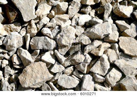 Grey stones background