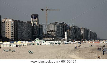Beach at Ostend